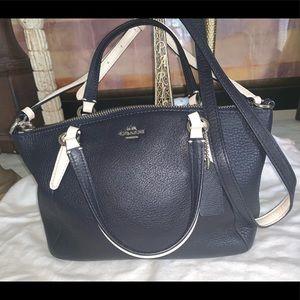 Coach Pebbled bag mini Kelsey satchel